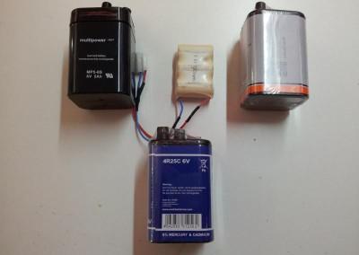 Akkupacks für Handlampen-/Handscheinwerfer