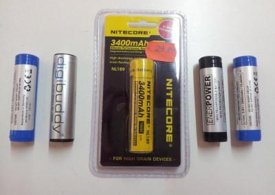 Akkus für Taschenlampen, Wecker mit BMS